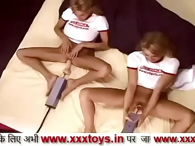 Indian girl pussy anal fuck Indian college girl enjoying with friend